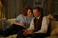 Patricia Clarkson and Chris Cooper in