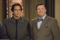 Ben Stiller as Larry Daley and Ricky Gervais as Dr. McPhee in
