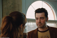 Rachel McAdams as Clare and Ron Livingston as Gomez in