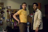 Michael Cera as Nick and Adhir Kalyan as Vijay in