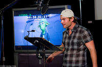 Seann William Scott on the set of