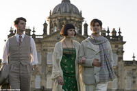 Matthew Goode as Charles Ryder, Hayley Atwell as Julia Flyte, and Ben Whishaw as Sebastian Flyte in