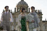 Matthew Goode as Charles Ryder, Hayley Atwell as Julia Flyte and Ben Wishaw as Sebastian Flyte in