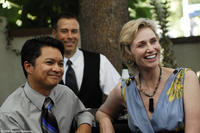 Alec Mapa as Mr. Bushnell and Jane Lynch as Ms. Maple in