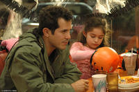 John Leguizamo as Frank Diaz and Samantha Rose as Christina Diaz in