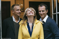 Jeremie Renier as Jeremie, Juliette Binoche as Adrienne and Charles Berling as Frederic in