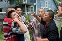 Bee Vang and Hmong gang members Jerry Lee, Elvis Thao, Sonny Vue and Doua Moua in