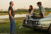 William Hurt as Brett, Kristen Stewart as Martine and Eddie Redmayne as Gordy in
