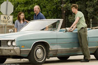 Kristen Stewart as Martine, William Hurt as Brett and Eddie Redmayne as Gordy in