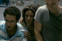 Paulo Costanzo as Seth, Jill Wagner as Polly, Shea Whigham as Dennis in