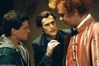 Josh Hutcherson as Steve, Willem Dafoe as Gavner Purl and John C. Reilly as Larten Crepsley in