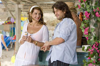 Nia Vardalos as Georgia and Alexis Georgoulis as Poupi in