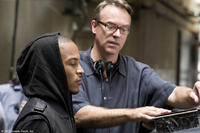 Tip ``T.I.'' Harris and director John Luessenhop on the set of