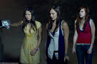 Jamie Chung as Claire, Briana Evigan as Cassidy and Rumer Willis as Ellie in