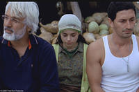 Talat Bulut as Irfan, Ozgu Nalam as Meryem and Murat Han as Cemal in