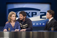 Cheryl Hines as Georgia, Gerard Butler as Mike and John Michael Higgins as Larry in