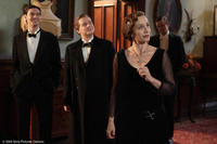 Ben Barnes as John, Pip Torrens as Lord Hurst and Kristin Scott Thomas as Mrs. Whittaker in