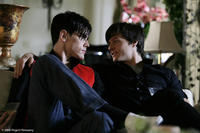Tom Sandoval as Miles and Blake Hood as Omar in