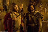 Jack Black as Zed, Michael Cera as Oh and David Cross as Cain in