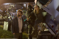 Zach Galifianakis as Ben and Kelli Garner as Marci in