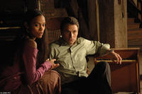 Zoe Saldana as Cassie and Tim Daly as Bryan Becket in