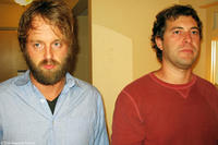 Joshua Leonard as Andrew and Mark Duplass as Ben in
