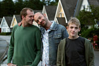Gustaf Skarsgard as Goran, Torkel Petersson as Sven and Tom Ljungman as Patrik in