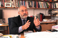 Nobel Prize-winner Joseph Stiglitz in