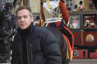 Director Jean-Marc Vallée on the set of