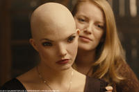 Delphine Chaneac as Dren and Sarah Polley as Elsa in