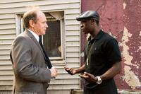 Will Patton as Bill and Don Cheadle as Tango in