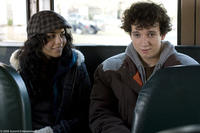 Vanessa Hudgens as Sam and Gaelan Connell as Will in