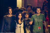 Ryan Donowho as Basher, Vanessa Hudgens as Sa5m, Charlie Saxton as Bug and Gaelan Connell as Will in