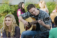 Aly Michalka as Charlotte and Scott Porter as Ben in
