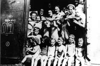 Children on Kasztner train, 1944.