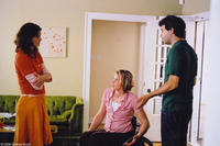 Maggie Hatcher as Lauren, Tilly Hatcher as Jeannie and Alex Karpovsky as Merrill in