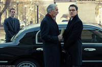 Richard Durden as Ambassador Bennington and Jonathan Rhys Meyers as James Reese in