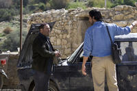 Parviz Sayyad as Hashem and Jim Caviezel as Freidoune Sahebjam in