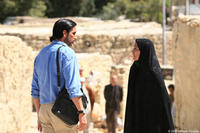 Jim Caviezel as Freidoune Sahebjam and Shohreh Aghdashloo as Zahra in