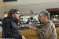 Director Kirk Jones and Robert De Niro on the set of