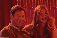 Aaron Eckhart as Burke and Jennifer Aniston as Eloise in