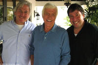 Director/producer Jeffrey C. Sherman, actor Dick Van Dyke and director/producer Gregory V. Sherman in