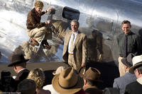 Hilary Swank as Amelia Earhart, Richard Gere as George Putnam and Christopher Eccleston as Fred Noonan in