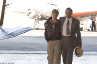 Hilary Swank as Amelia Earhart and Richard Gere as George Putnam in
