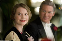 Mia Wasikowska as Elinor Smith and Richard Gere as George Putnam in