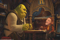 Shrek and Rumpelstiltskin in