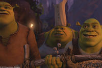 Brogan, Cookie and Shrek in