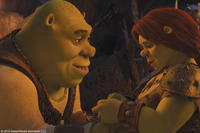 Shrek and Fiona in