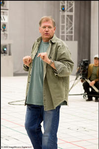 Writer-director-producer Robert Zemeckis on the set of