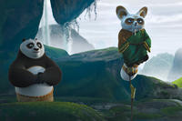 Po and Shifu in ``Kung Fu Panda 2.''